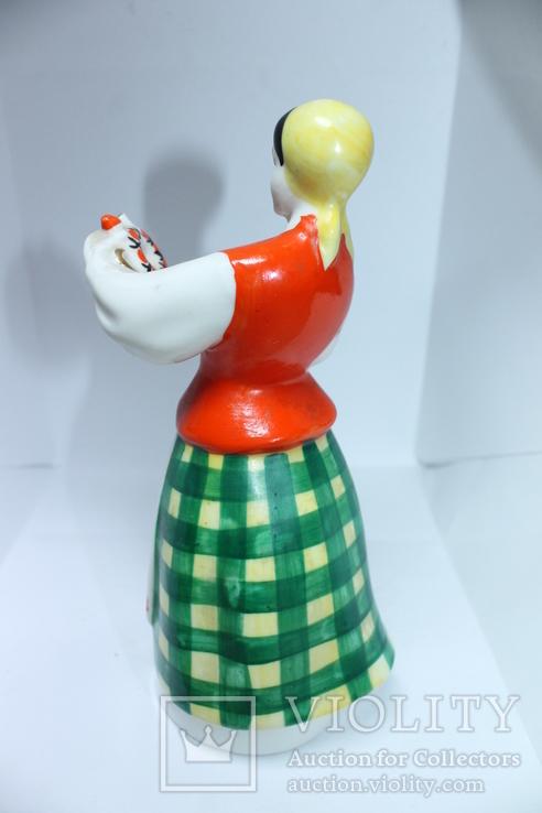 Фарфор СССР девушка с кувшином, фото №4