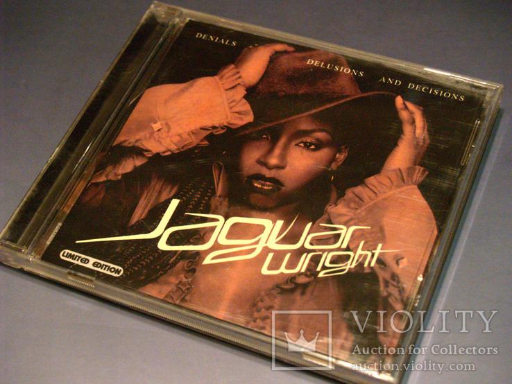Jaguar Wright – Denials Delusions And Decisions фирм. CD + постер, фото №2