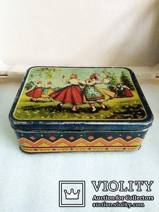 Коробка Norma Латвийский танец. Таллин 50е годы, фото №3