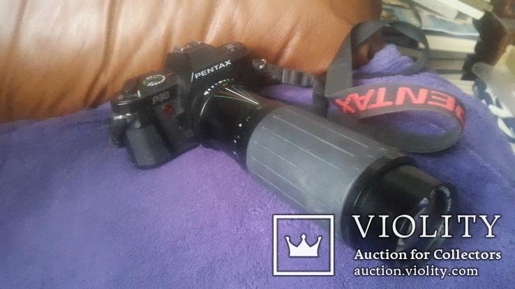 Японский фотоаппарат Pentax P30, фото №2