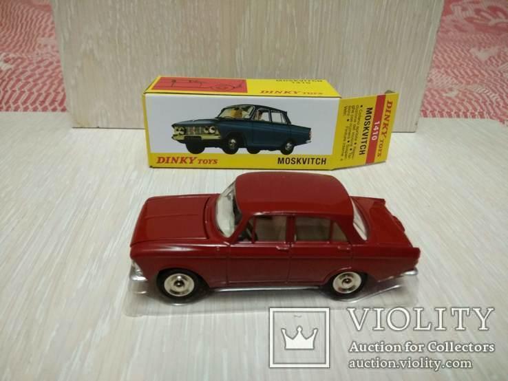 Москвич 408, 1/43, Dynky Toys, ремейк от Atlas, фото №2