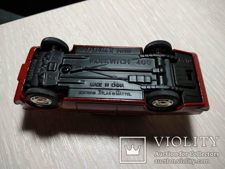 Москвич 408, 1/43, Dynky Toys, ремейк от Atlas, фото №8