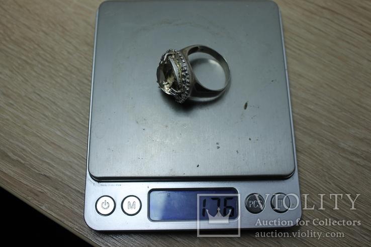 Мужское серебряное кольцо, фото №10