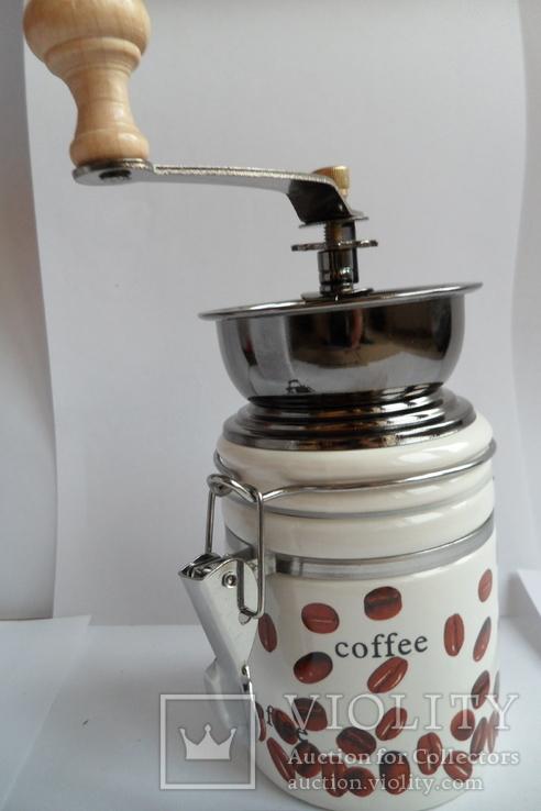 Кофемолка круглая Польша, фото №5
