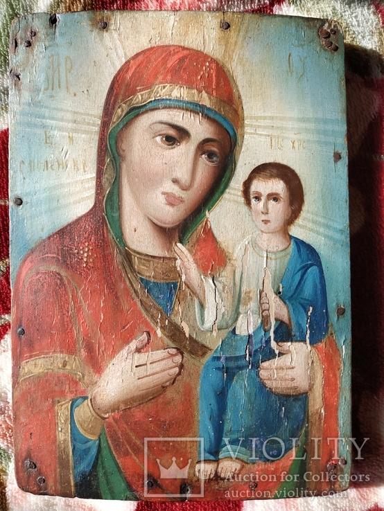 Икона Матерь Божья Смоленская ., фото №3