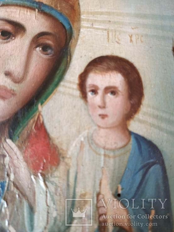 Икона Матерь Божья Смоленская ., фото №5