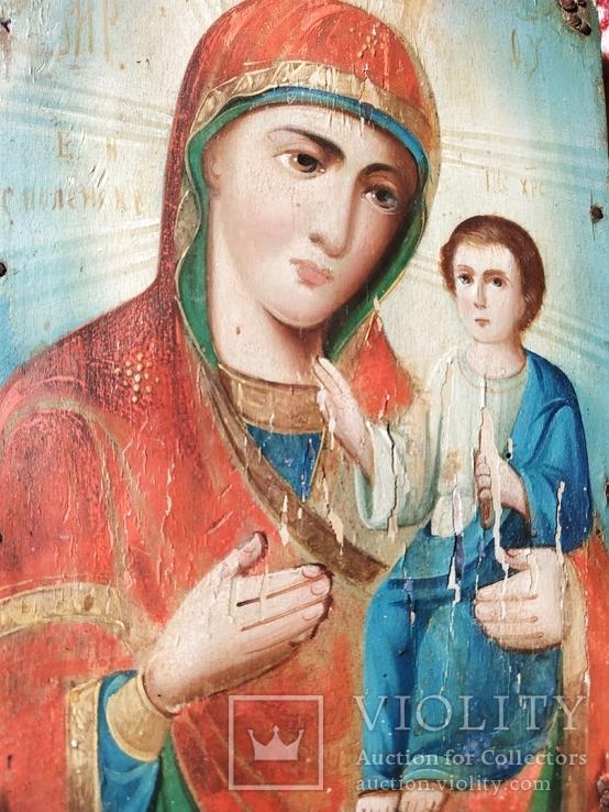 Икона Матерь Божья Смоленская ., фото №11