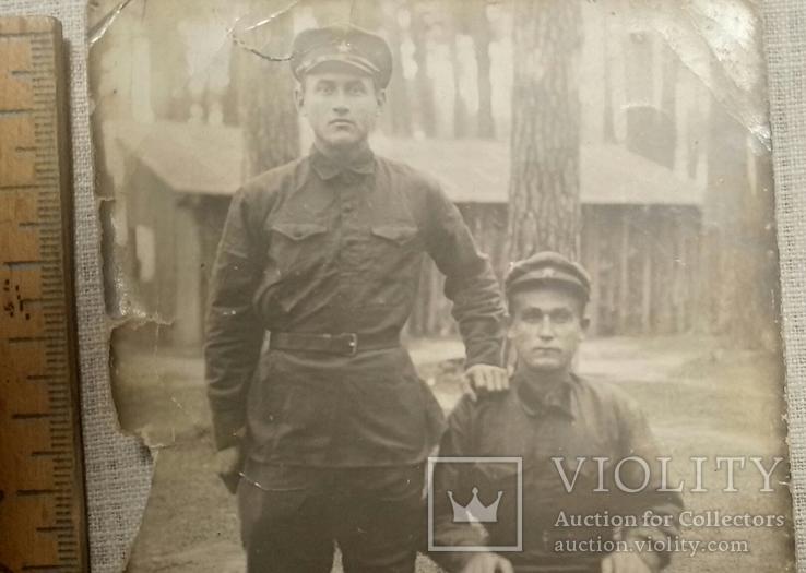 Фотография двух военных 50-е годы, фото №4