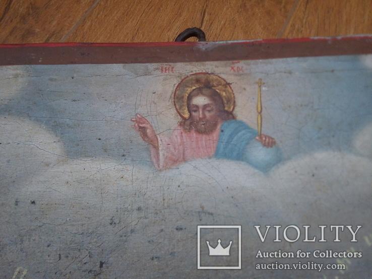 Ікона св.Петро і Пантелеймон, 77.5 на51.5см., фото №4