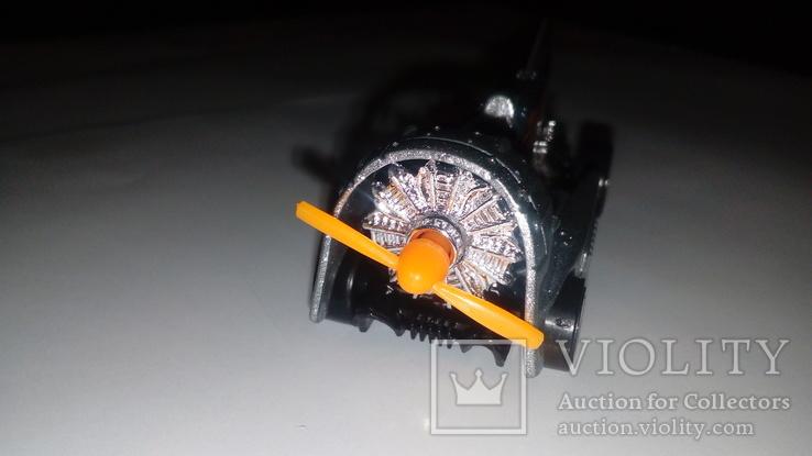 Машинка Хот Вилс Hot Wheels Аэромобиль стального цвета, фото №3