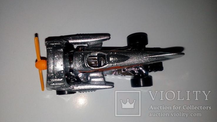 Машинка Хот Вилс Hot Wheels Аэромобиль стального цвета, фото №5