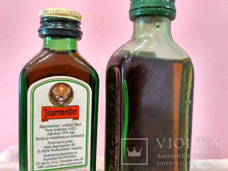 """Две мини бутылочки """"Jagermeister"""", 60-80 годы, фото №4"""