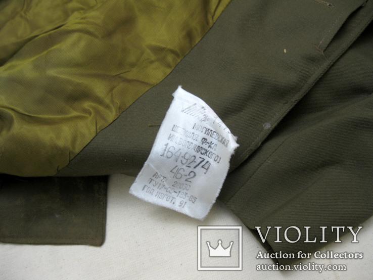 Офицерский плащ пальто СССР и нашивки, фото №7