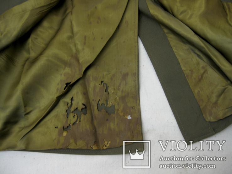 Офицерский плащ пальто СССР и нашивки, фото №10