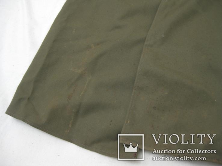 Офицерский плащ пальто СССР и нашивки, фото №11