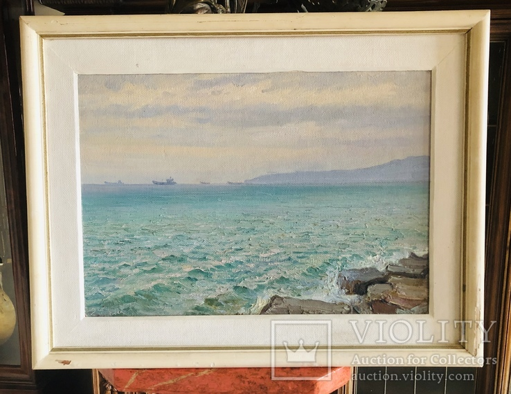Морской пейзаж. 1984 год.