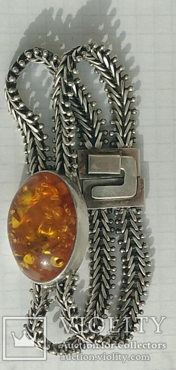 Браслет, серебро 925 пробы., фото №3
