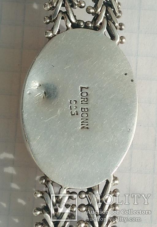Браслет, серебро 925 пробы., фото №8