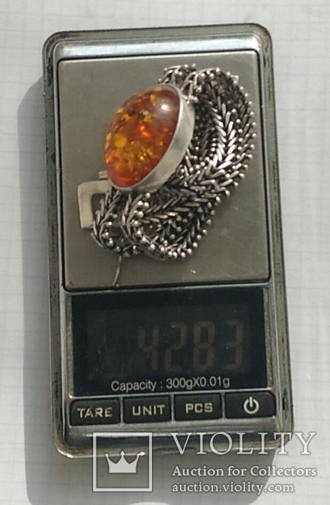 Браслет, серебро 925 пробы., фото №11