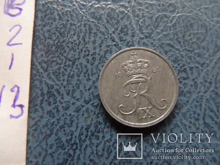 1 эре 1968 Дания цинк ($2.1.13) ~, фото №4