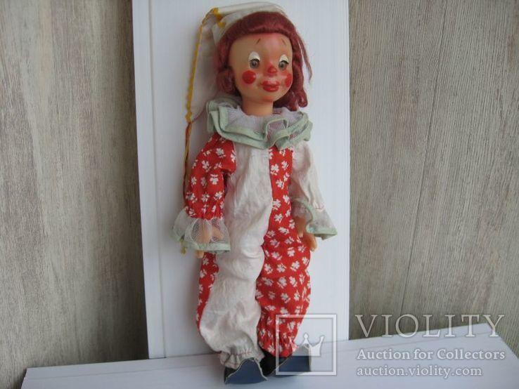 Кукла паричковая Клоун фабрики 8 Марта, СССР., фото №2