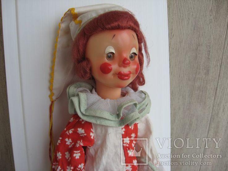 Кукла паричковая Клоун фабрики 8 Марта, СССР., фото №3