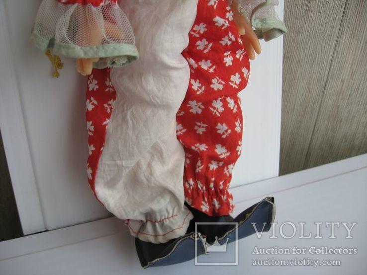 Кукла паричковая Клоун фабрики 8 Марта, СССР., фото №5
