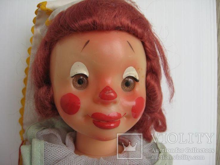 Кукла паричковая Клоун фабрики 8 Марта, СССР., фото №6