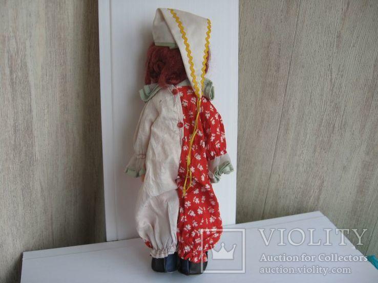 Кукла паричковая Клоун фабрики 8 Марта, СССР., фото №8