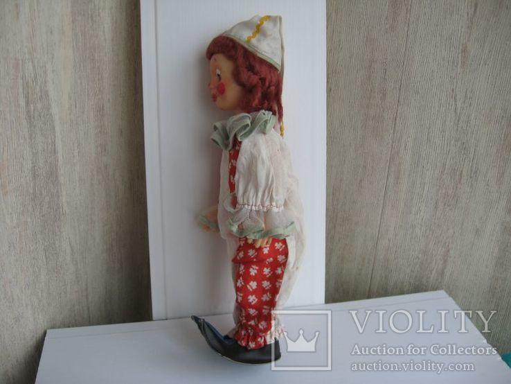 Кукла паричковая Клоун фабрики 8 Марта, СССР., фото №9