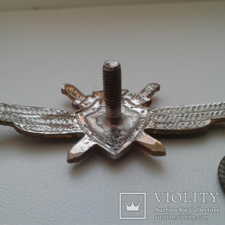 Знак классность Военный летчик авиации 2 класс ВВС СССР 1950 год, фото №6