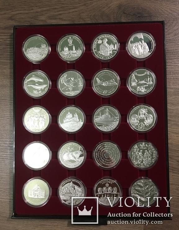 Полная коллекция монет Украины. Серебро 1995-2019.