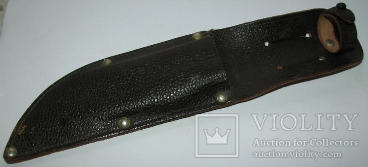 Ножны кожа для большого охотничьего промыслового нож ПК МООиР СССРа