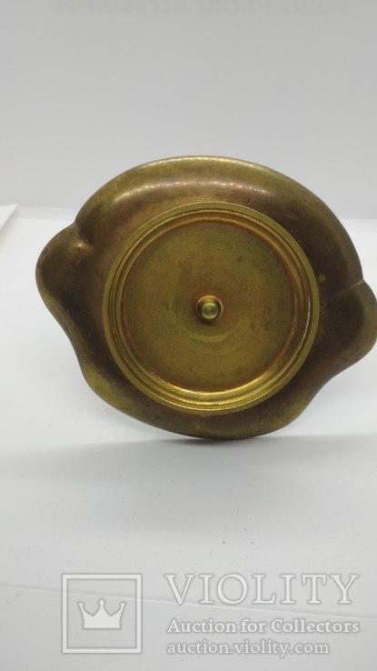 Старинная спичечница, бронза, гарячие перегородчатые эмали., фото №4