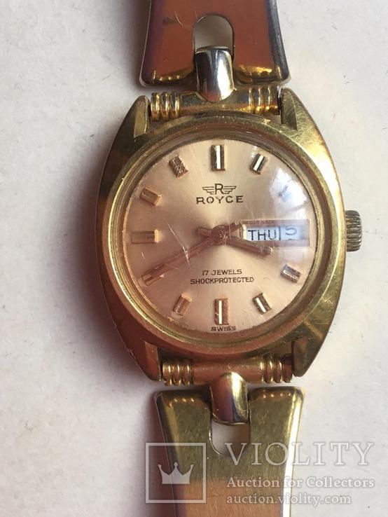 Наручные часы  с браслетом  ROYCE, Швейцария, идут., фото №2
