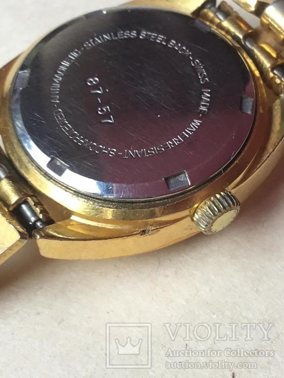 Наручные часы  с браслетом  ROYCE, Швейцария, идут., фото №13