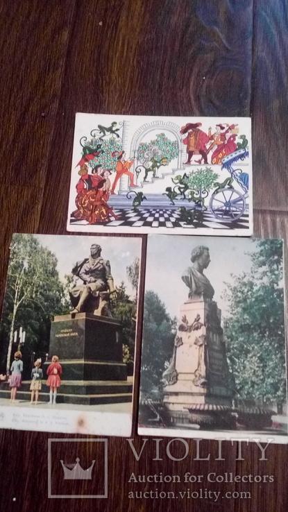 60 старых открыток с цветами + бонус, фото №6