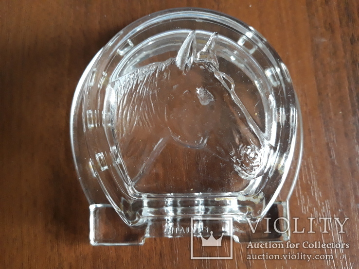 Пепельница  Лошадь стекло Италия, фото №7