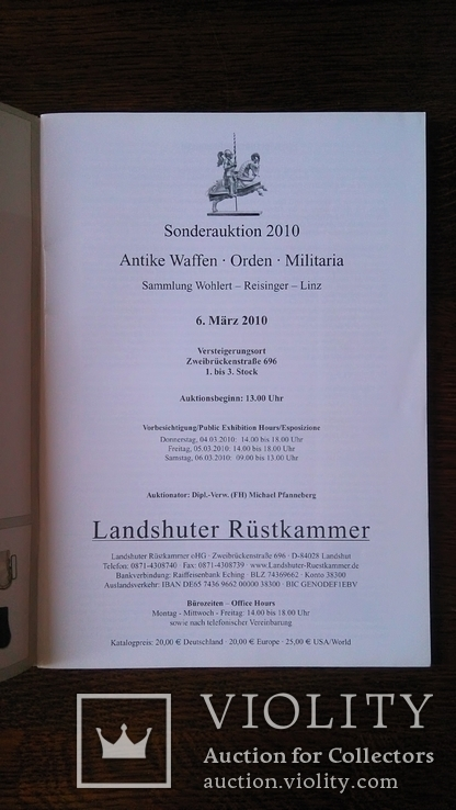 Каталог Landshuter Rustkammer март 2010, фото №10