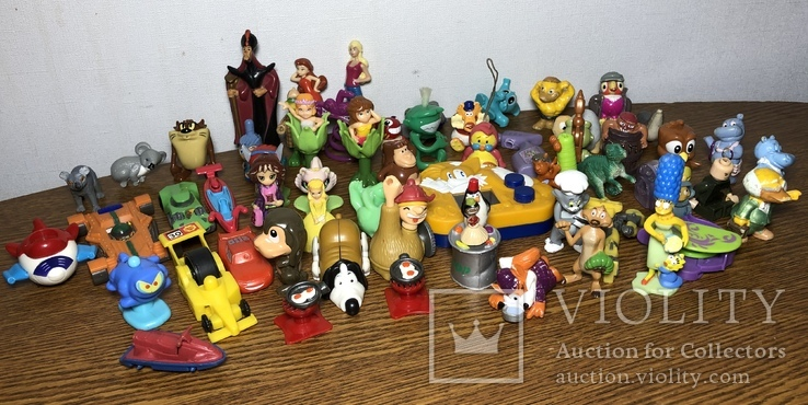 Игрушки из «Киндер сюрприз», фото №2