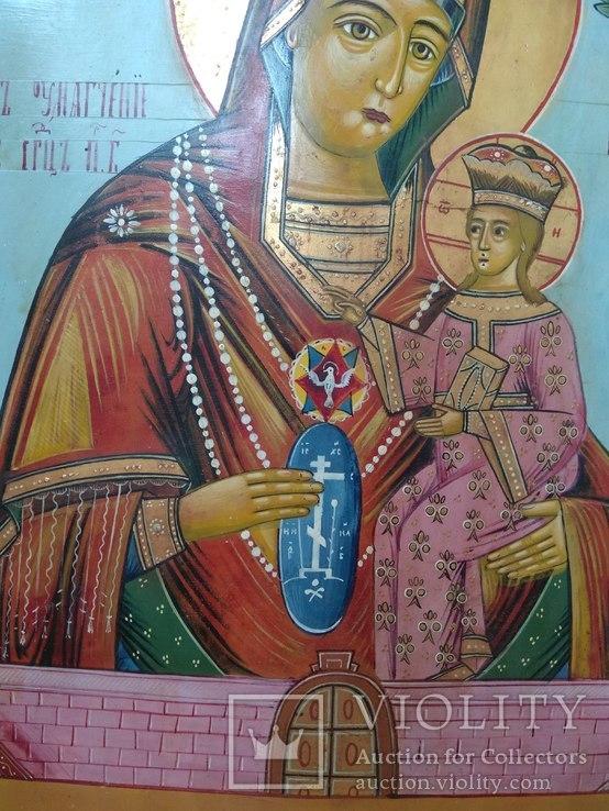 Икона Божья матерь умягчения злых сердец, фото №6