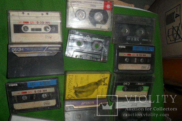 Аудиокассета кассеты 20 штук в лоте + 4 шт бонусом, фото №3