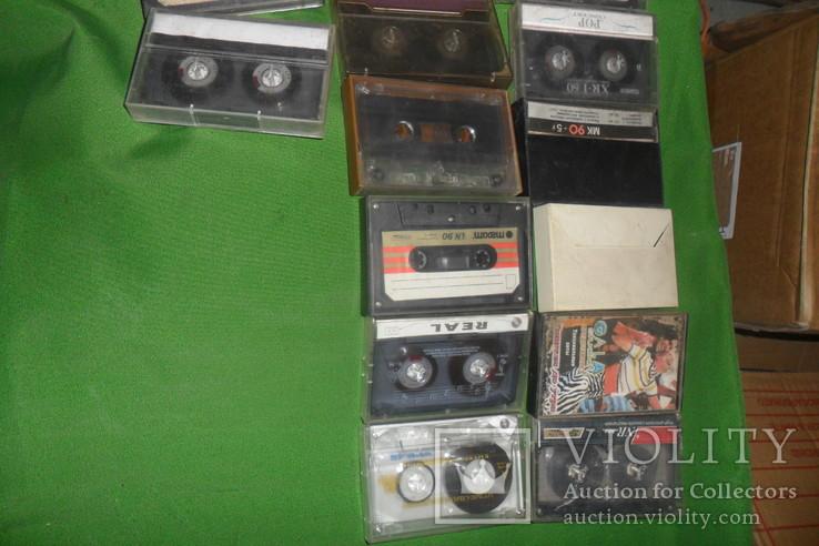 Аудиокассета кассеты 20 штук в лоте + 4 шт бонусом, фото №4