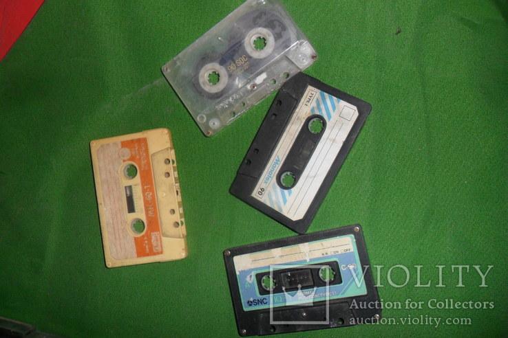 Аудиокассета кассеты 20 штук в лоте + 4 шт бонусом, фото №5