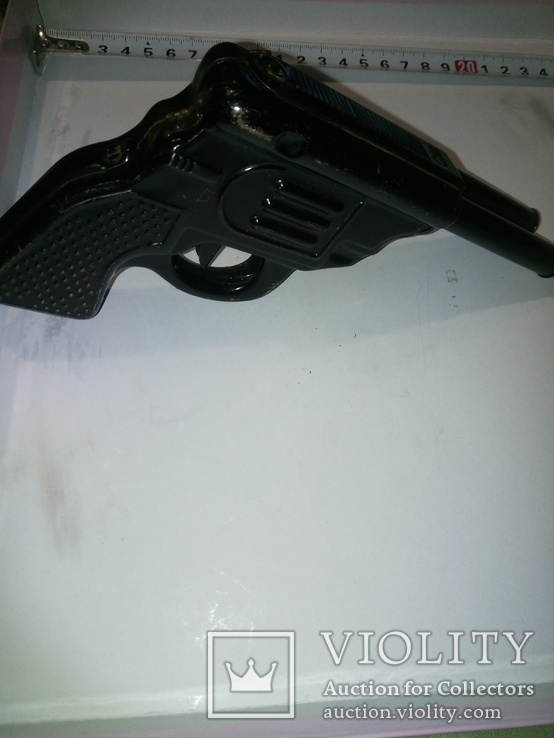 Пистолет двухствольный ,железный под восстановление .СССР, фото №3