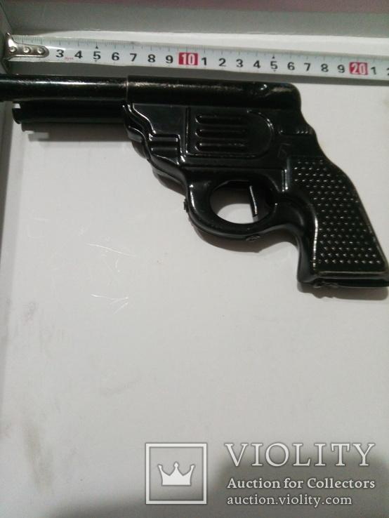 Пистолет двухствольный ,железный под восстановление .СССР, фото №6