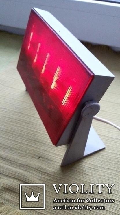 Красный фонарь для печати. ( рабочий)., фото №2