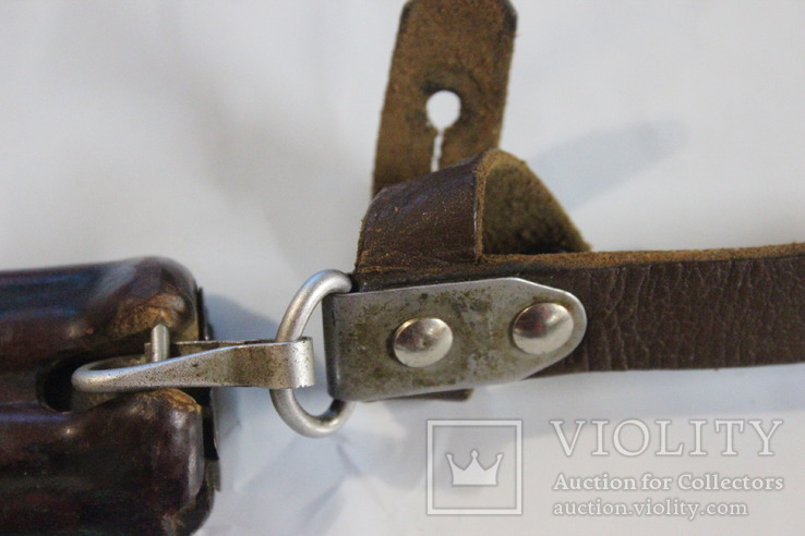 Ножны для штык-ножа автомата АК-47 + сувенирный макет ножа из жести, фото №5