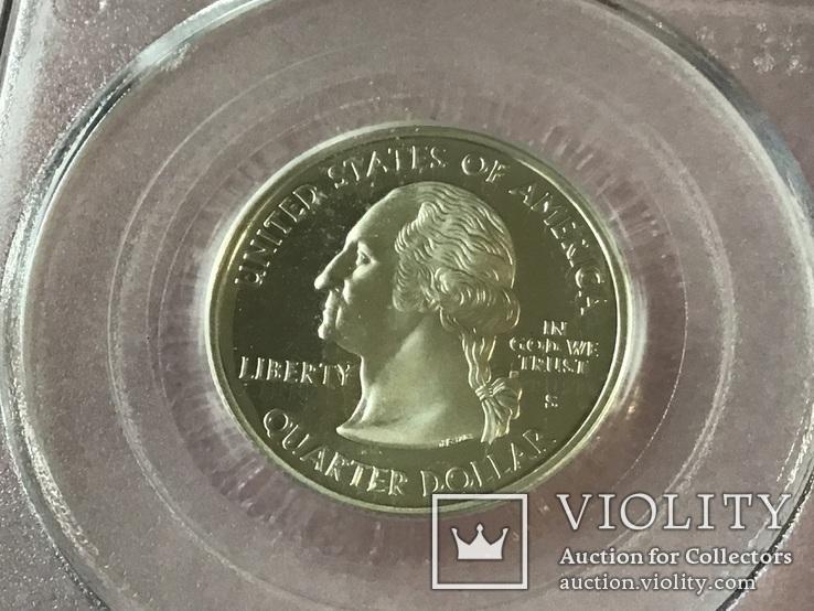25 центов сша 2002 г. Серебро, фото №5