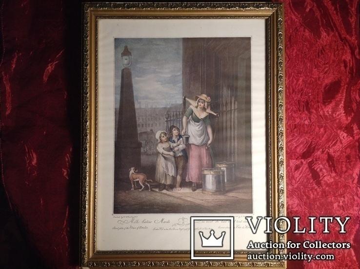Картина в интерьер N 1 / Англия /. Репродукция., фото №2